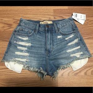 Hollister Vintage Hi-Rise Shorts